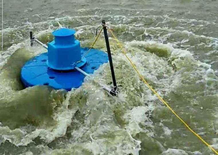 Máy sục khí tạo sóng ao cá